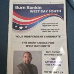 'Fiery' campaign launch for WBS candidate