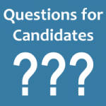 Send in your questions for candidates